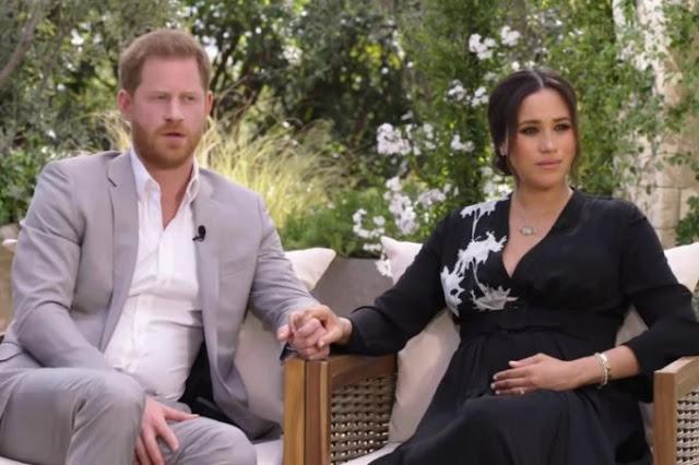 Meghan diz que a família real discutiu cor da pele de seu filho - Adamantina Notìcias