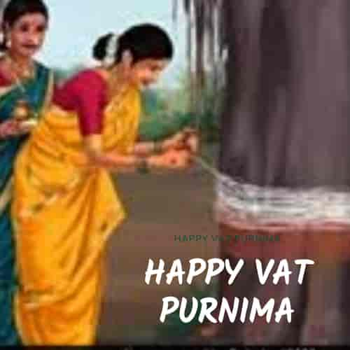 Vat Purnima wishes in Marathi