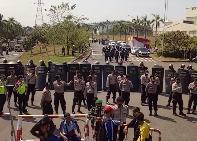 Soal TR Kapolri, Buruh: Polisi Jadi Alat Kekuasaan dan Pembela Pemodal