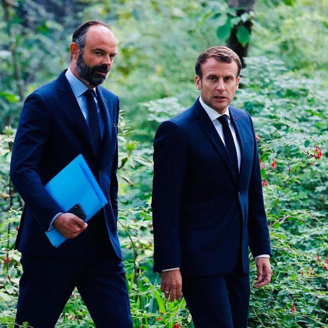 الرئاسة الفرنسية تعلن تعيين اليميني جان كاستيكس رئيسا للوزراء الفرنسي خلفا لإدوار فيليب✍️👇👇👇