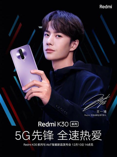 redmi k30 launch date