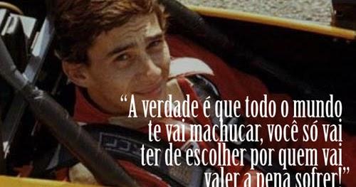 Várias Imagens Com Frases De Ayrton Senna Baixar Imagens