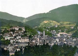Baden-Baden Schloss 1900