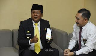 Bupati Soppeng menerima Kunjungan Tim KP2KP Watanpone