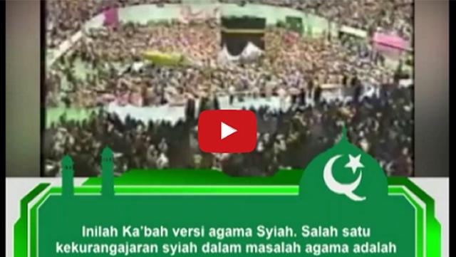 [VIDEO] Konyol, Begini Ritual Syiah di Sekitar Ka'bah Tiruan Buatan Mereka, Salah Satunya Nyanyi Lagu India