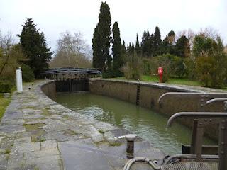 Esclusa simple. Canal du Midi