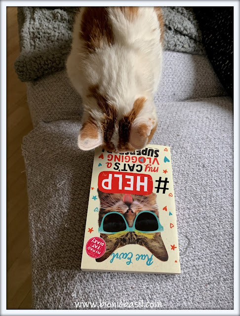 Book Reviews with Amber #170 ©BionicBasil® Help My Cat's a Vlogging Superstar AMber's Purrsonal Copy