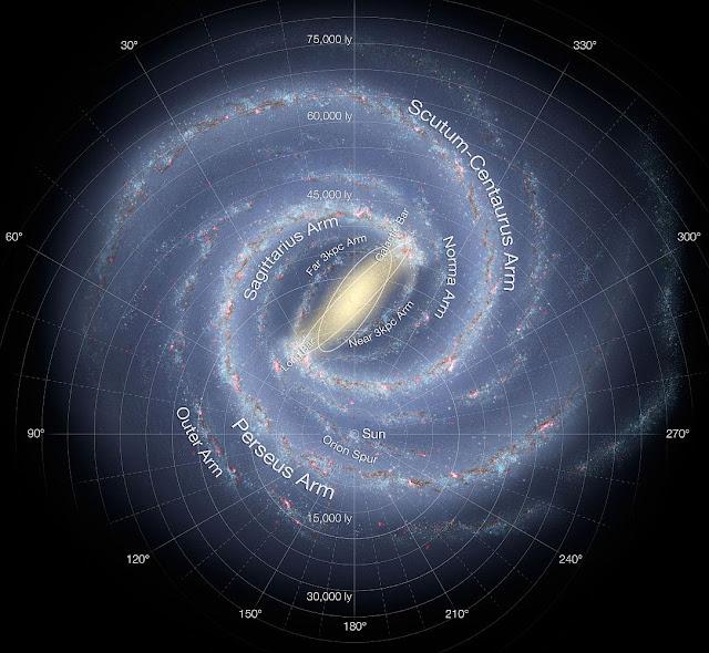 銀河系光之曼陀羅