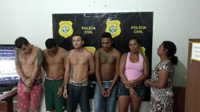 Polícia desarticula quadrilha do trafico em Sena Madureira