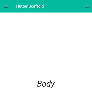 flutter body property