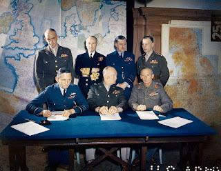 Cuartel Gral Fuerza Expedicionaria Desembarco Normandía 6 junio 1944