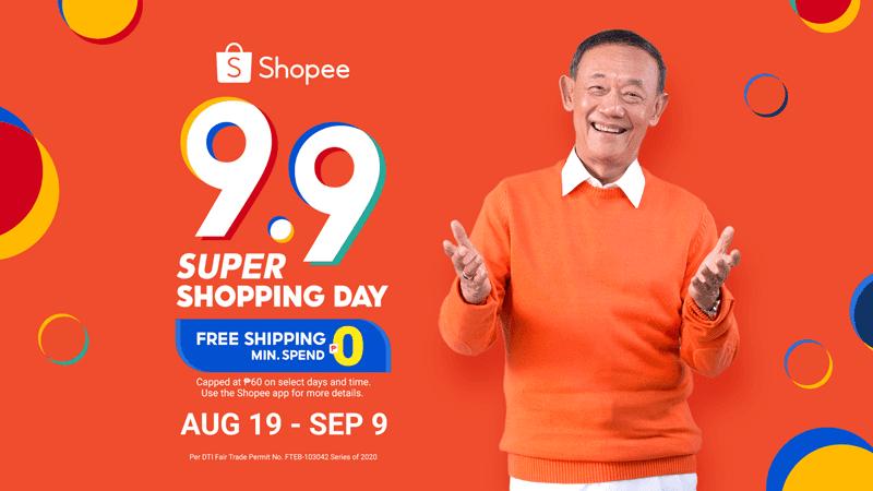 Shopee opens 9.9 Super Shopping Day campaign, Jose Mari Chan returns as its brand ambassador