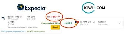 بعض أسرار الحصول على تذاكر طيران أرخص عند الحجز أونلاين!