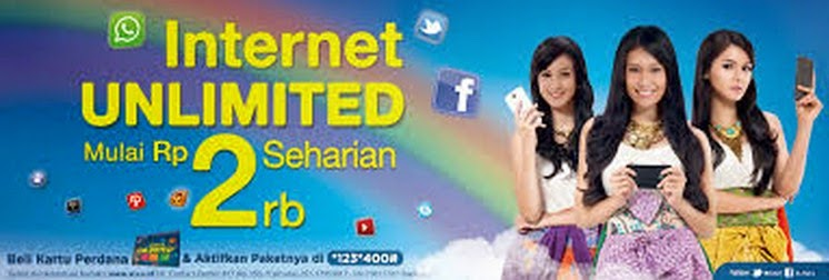 Paket Internet Unlimited Dari XL