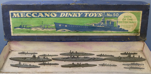 Meccano Dinky Toys Ships of the British Navy