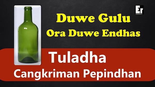Tuladha Cangkriman Pepindhan | Contoh Cangkriman Pepindhan