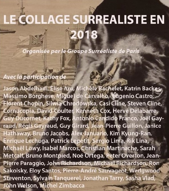 EXPOSITION COLLAGES du GROUPE SURREALISTE de PARIS, 8/12/2018-FEVRIER 2019, Maison André BRETON