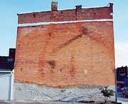 Building exterior without wall mural 3