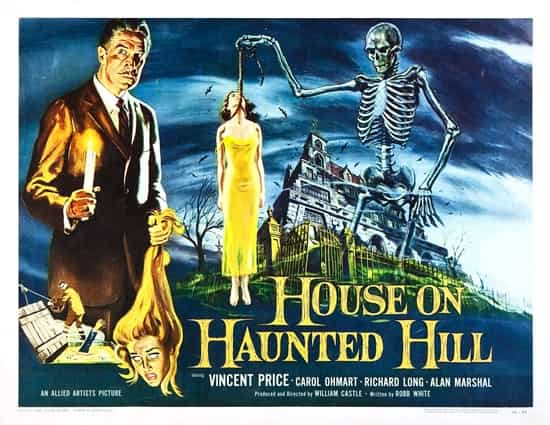 the house on haunted hill-poster