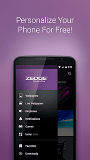 ZEDGE Ringtones Wallpapers v5.72.4 (Ad Free)  APK