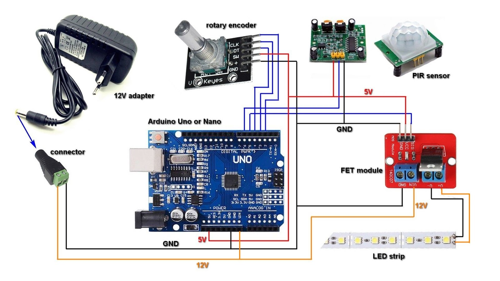 Rudy's Arduino Projects