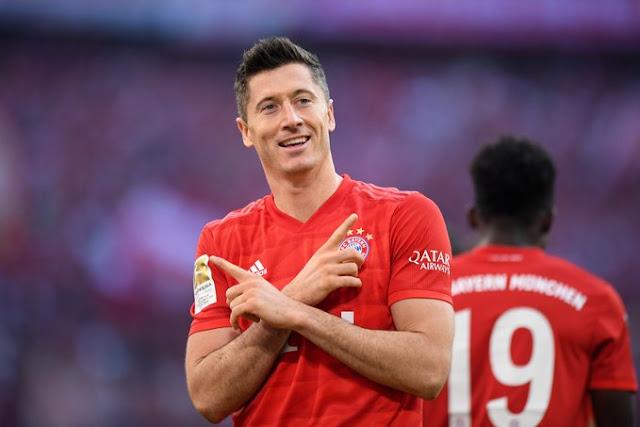 ليفاندوفسكي يخطف أنظار ريال مدريد