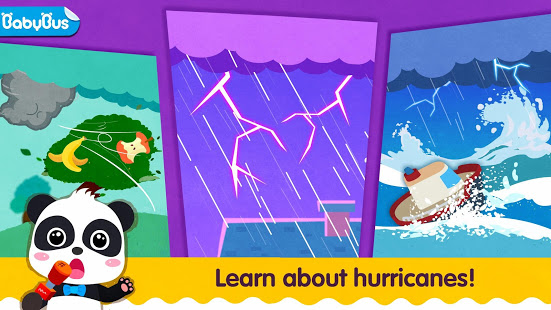 Little Panda's Weather: Hurricane