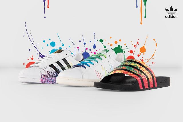 Adidas Superstar Bianche Con Schizzi Colorati alberodiminerva.it