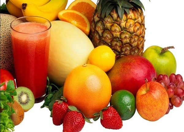 Where is vitamin A in fruits?