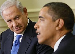 Obama with Benjamin Netanyahu