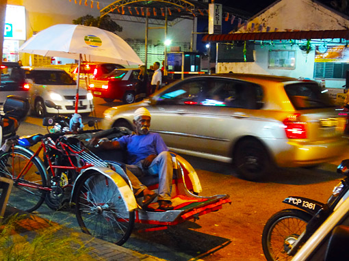 how is the rickshaw life