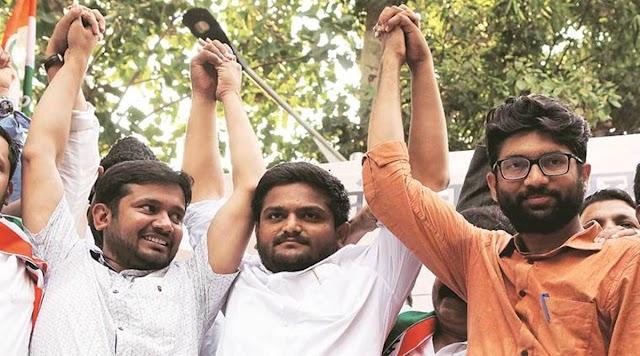 After exit of key young leaders, Congress looks at Jignesh Mevani, Kanhaiya Kumar.