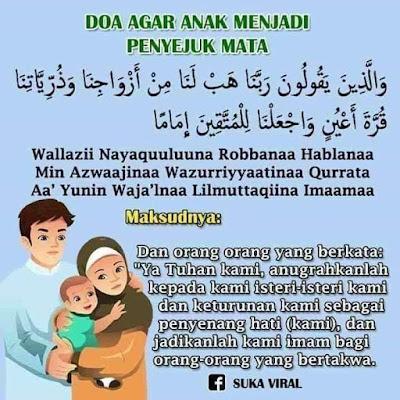Doa anak jadi penyejuk mata