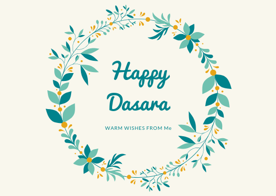 Happy Dasara 2019 wishes Images