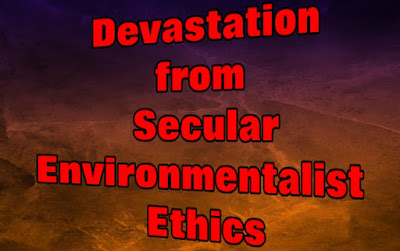Secular ethics are rooted in the rejection of God. Some ethicists want to see millions of people eliminated for the good of the world. Our Creator has far better plans.