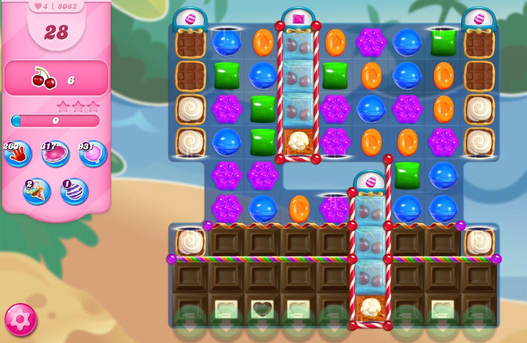 Candy Crush Saga level 8082