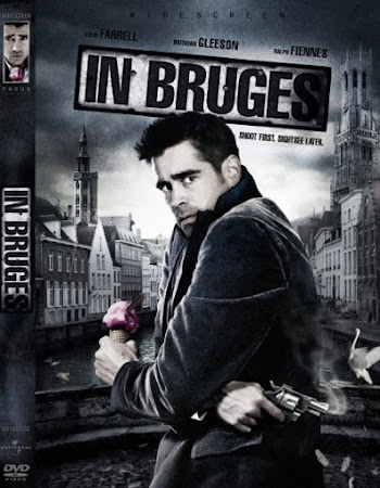 Poster Of In Bruges In Dual Audio Hindi English 300MB Compressed Small Size Pc Movie Free Download Only At worldfree4u.com