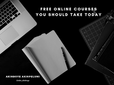 Free Online Courses You Should Take Today