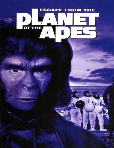 Ver Escape del planeta de los simios (1971) Online