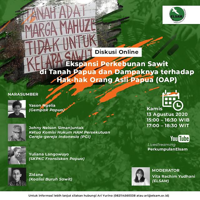 Ekspansi Perkebunan Sawit di Tanah Papua dan Dampaknya terhadap Hak-hak Orang Asli Papua