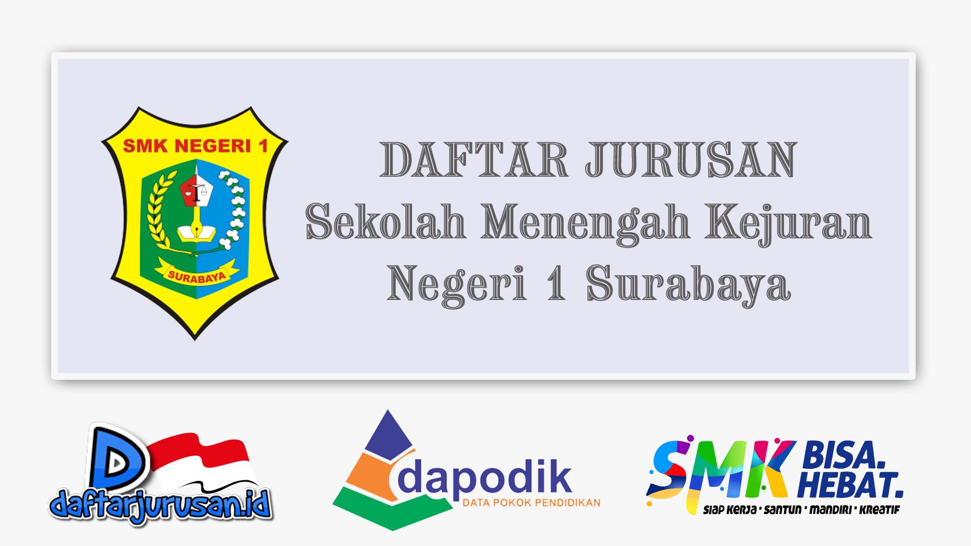 Daftar Jurusan SMK Negeri 1 Surabaya