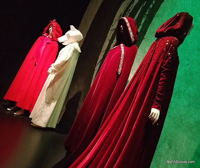 red hood cape