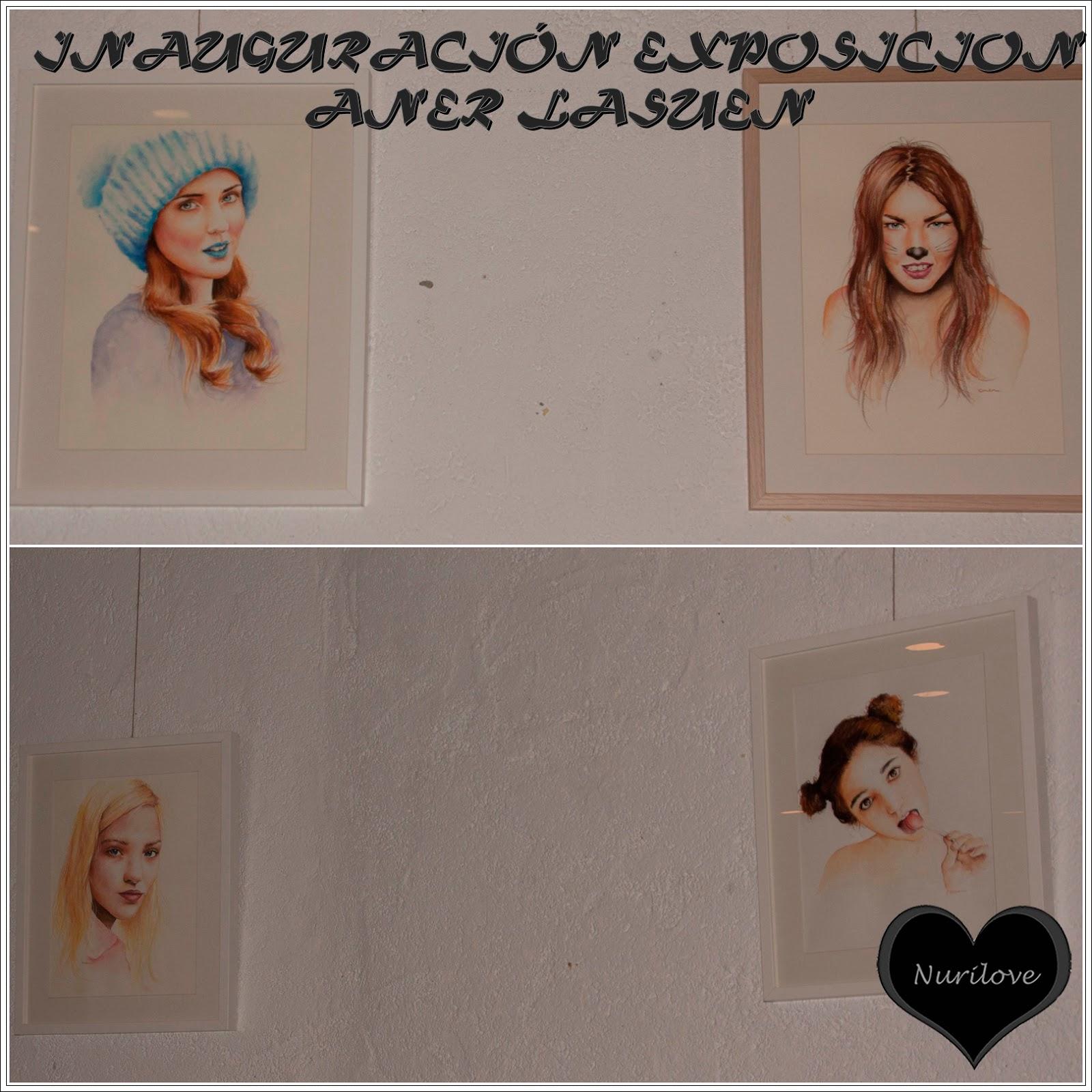 Inauguración Exposición Aner Lasuen: Una artista