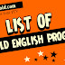 List of PTV Old English Programs