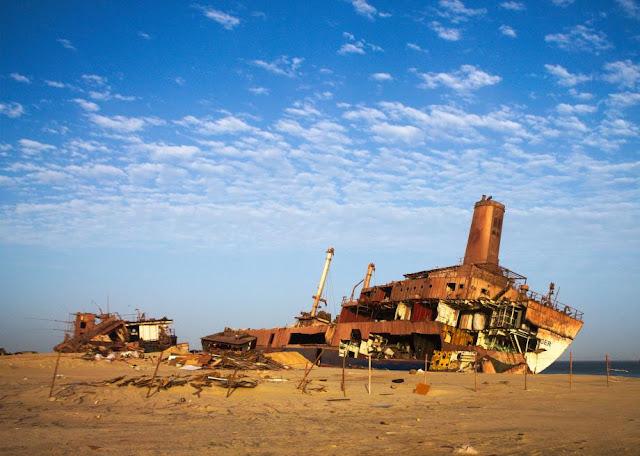 Nuadibú, el cementerio de barcos más grande del mundo