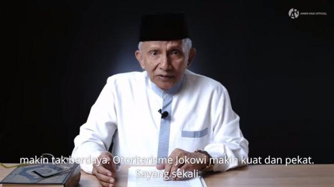 Sebut Jokowi Otoriter, Amien Rais Samakan dengan Kisah Firaun vs Nabi Musa