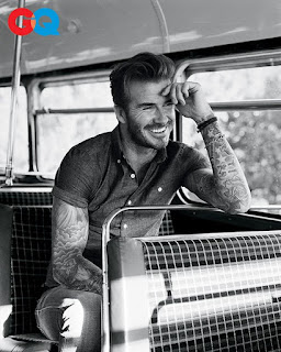 David Beckham talks missing soccer with GQ magazine. Details at JasonSantoro.com