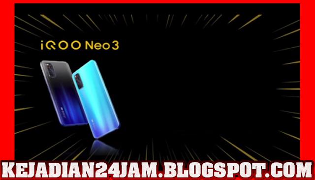 IQOO Neo 3 Punya Layar 144Hz Dan Snapdragon 865
