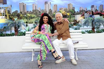 Dalila e Carlos Alberto (Crédito: Lourival Ribeiro/SBT)