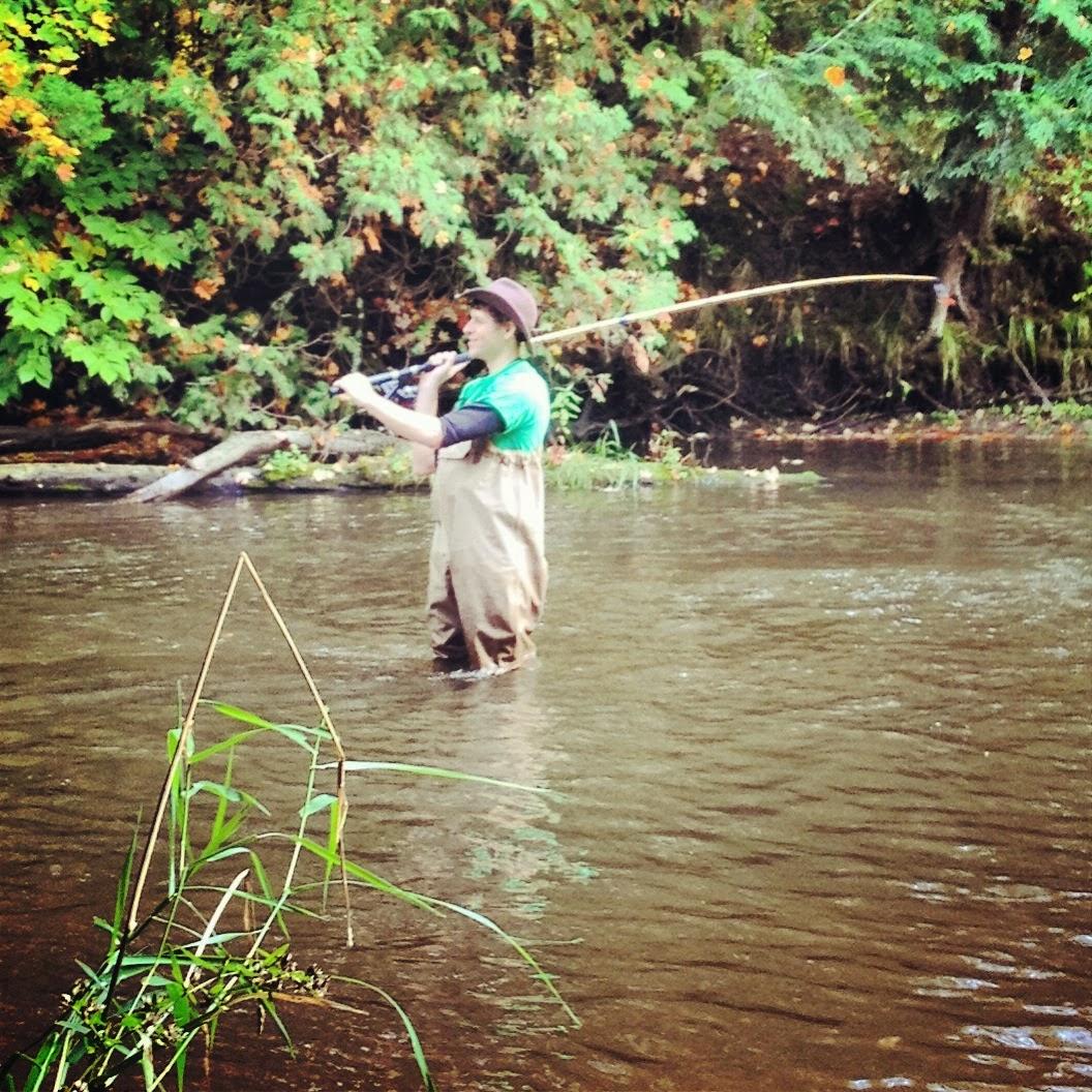 Damn Arbor: Salmon fishing in Michigan